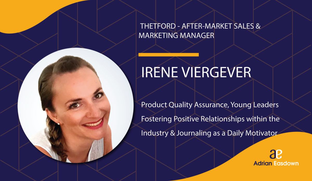 Image of Irene Viergever, Thetford After-Market Sales & Marketing Manager