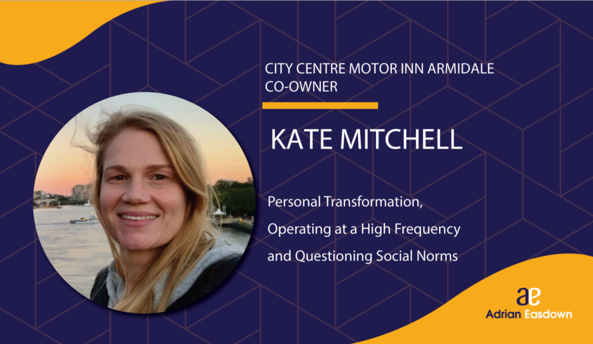 Kate Mitchell talks about Personal Transformation on That Bad Review Podcast