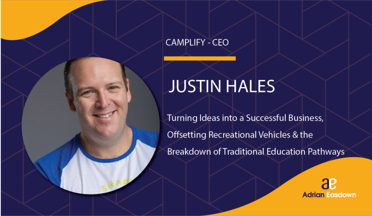 Justin Hales, CEO of Camplify