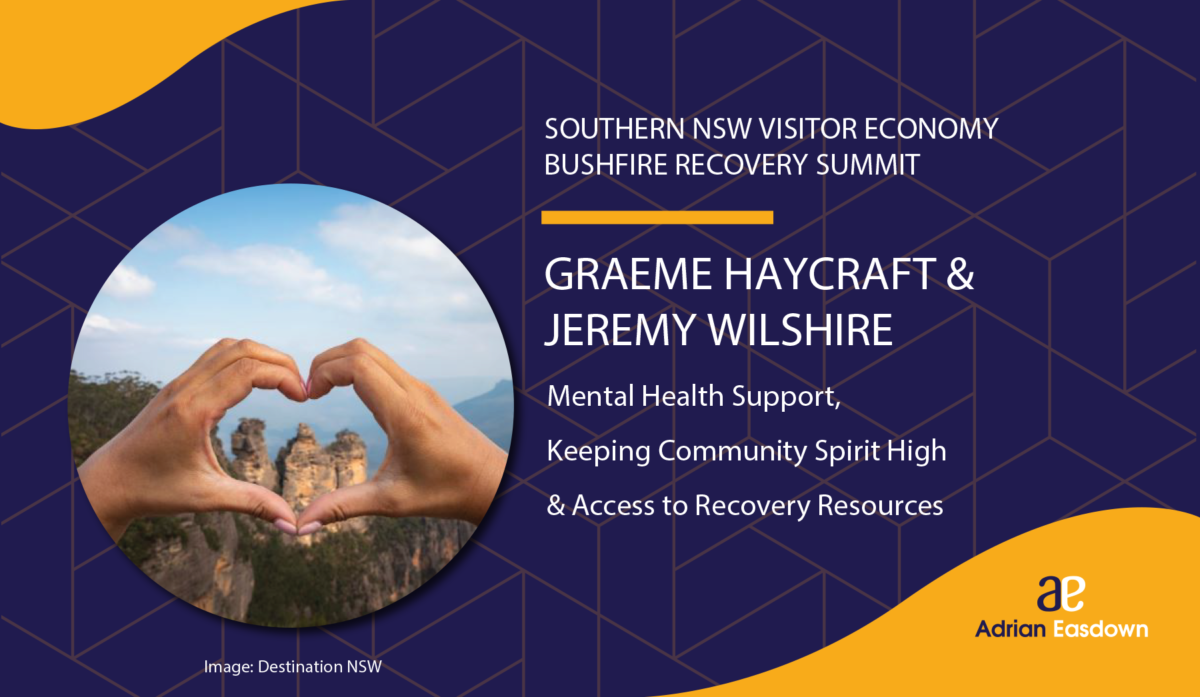 Graeme Haycraft & Jeremy Wilshire on Mental Health Support, Keeping Community Spirit High & Access to Recovery Resources